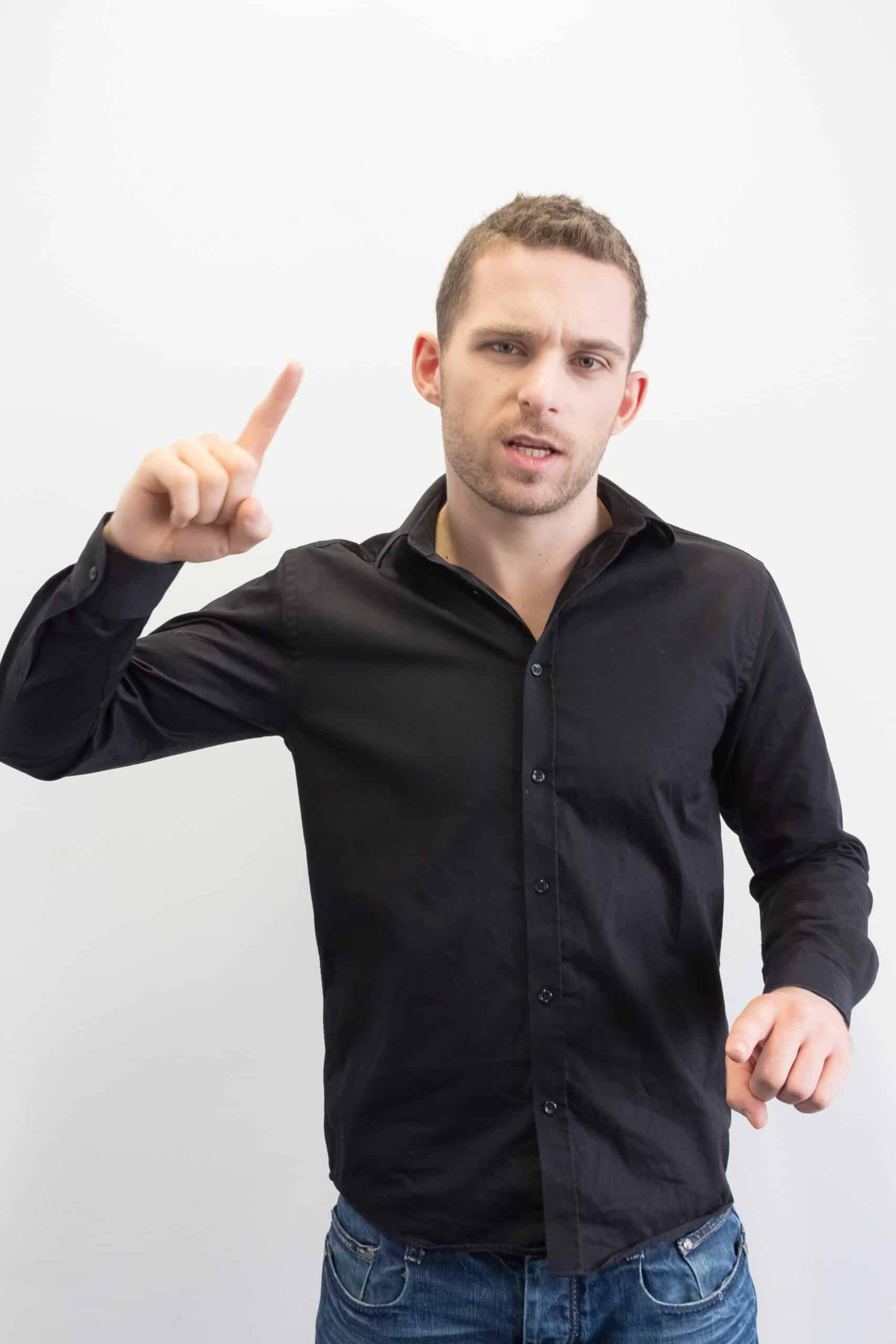 Verhandlungen München mit Körpersprache