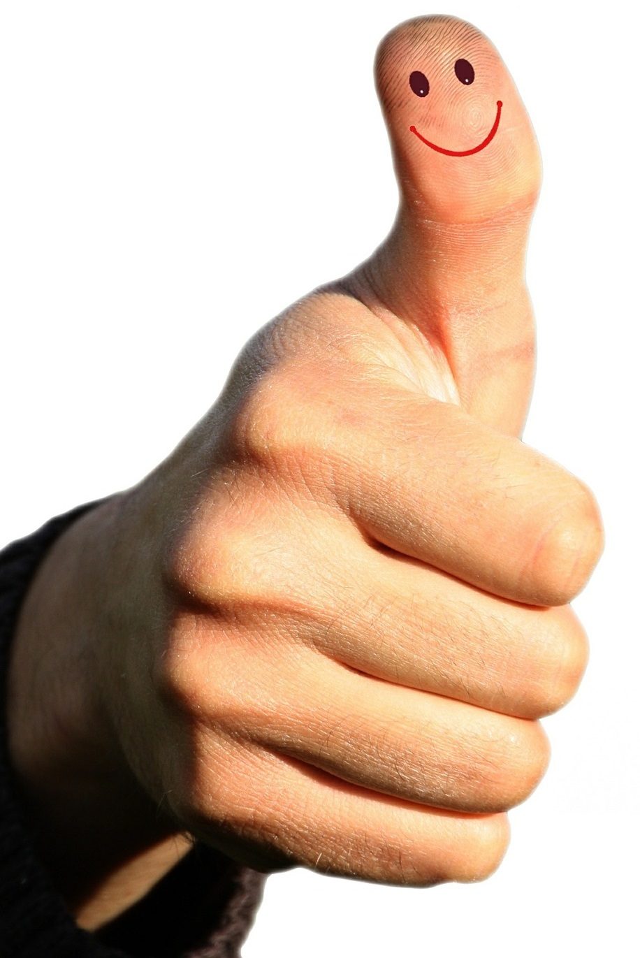 werteorientiertes-verkaufen-kompetenzen-ulrike-knauer-verkauf-vertrieb-verkaufsseminar-verkaufstraining-muenchen-zufriedenheit-spitzenverkaeufer-daumen-hoch