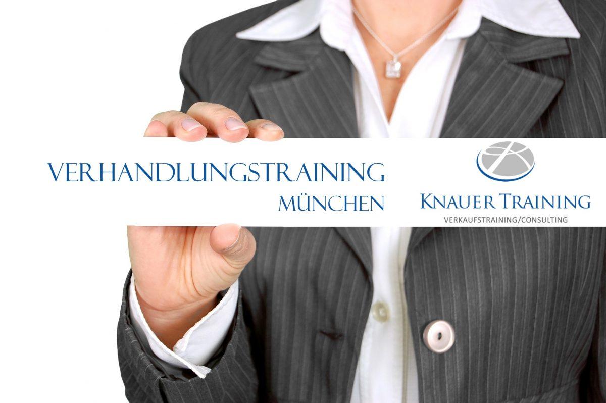 Verhandlungstraining München Verhandlungsseminar Ulrike Knauer richtig verhandeln Seminar Training